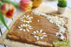Mazurek kajmakowy Easter Recipes, Brownies, Pudding, Cookies, Cake, Desserts, Squares, Foods, Cake Brownies