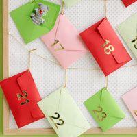 How to make a Advent Calendar