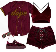 Baddie Outfits – Page 2150039320 – Lady Dress Designs Teenage Outfits, Teen Fashion Outfits, Stage Outfits, Kpop Outfits, Mode Outfits, Dance Outfits, Look Fashion, Korean Fashion, Girl Outfits