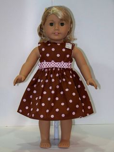 American Doll Clothing Dress by StuffMyWay on Etsy