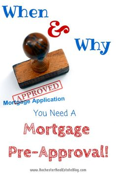 When and Why Should I Get Pre-Approved For A Mortgage? http://rochesterrealestateblog.com/when-and-why-should-i-get-pre-approved-for-a-mortgage/ via @KyleHiscockRE #realestate #mortgage #preapproval #mortgagepreapproval