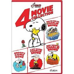 """DVD Peanuts """"4 Movie Collection"""""""