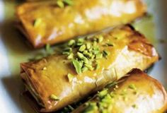 Phyllo Pastry with Nuts and Honey Syrup Recipe | Leite's Culinaria