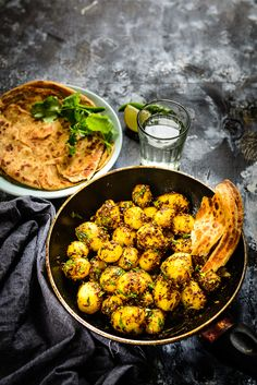 One of the easiest recipe to prepare, especially when there is a lack of time, Zeera Aloo is a flavorful, delicious and irresistable dish of baby potatoes.