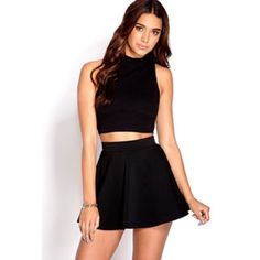 Nasty Gal Rebel Crop Top Cute top can be dressed up or down. Never worn, in perfect condition. Nasty Gal Tops Crop Tops