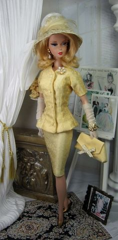 Vanilla Light for Silkstone Barbie and Victoire Roux on Etsy now