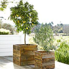 ides de projets diy avec des caisses de bois
