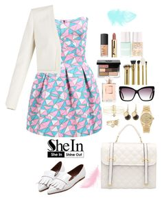 """""""Shein 9."""" by amra-f ❤ liked on Polyvore featuring BCBGMAXAZRIA, Ted Baker, Accessorize, Marc by Marc Jacobs, Rolex, Tom Ford, Bobbi Brown Cosmetics, tarte and NARS Cosmetics"""