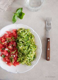 Clean Recipes, Food Design, Raw Vegan, Gluten Free Recipes, Risotto, Salsa, Grilling, Spaghetti, Food And Drink