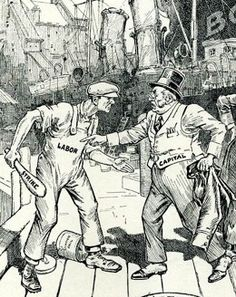 Labor Cartoons of the 1920's