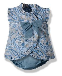 Love this paisley romper Baby Girl Fashion, Kids Fashion, Little Girl Dresses, Girls Dresses, Toddler Outfits, Kids Outfits, Baby Girls, Baby Baby, Baby Boutique