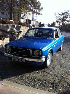 """Volvo 142 """"påkostet"""" selges"""