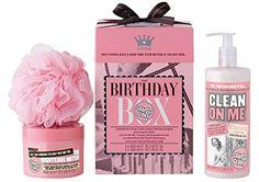 Soap & Glory The Birthday Box Gift Set Soap & Glory https://www.amazon.com/dp/B006L68WBQ/ref=cm_sw_r_pi_dp_x_HB5cyb1KP13J4