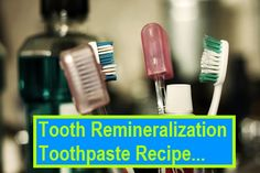 A Homemade Toothpaste Recipe with coconut oil, sea salt and peppermint.