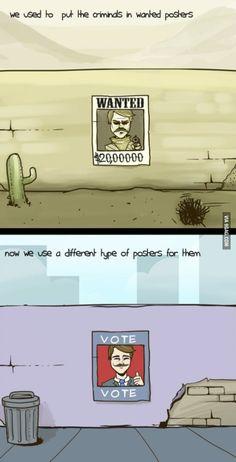 Criminals Nowadays