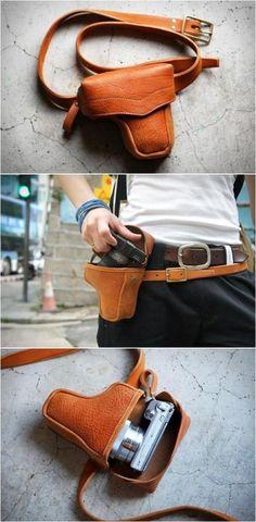 Gun case camera bag