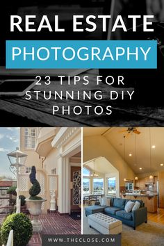 Check out our tested and actionable advice for DIY real estate photography. How To Take Real Estate Photos, Real Estate Pictures, Real Estate Tips, Selling Real Estate, How To Take Photos, House Photography, Interior Photography, Photography Tips, Beginner Photography