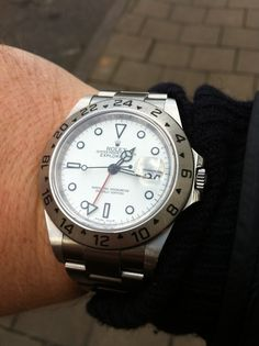 Rolex Explorer II (16570). Also known as the 'Polar'. Great watch.