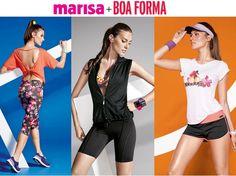 Marisa lança moda fitness em parceria com a revista BOA FORMA.