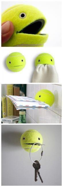 Useful Tennis Ball!