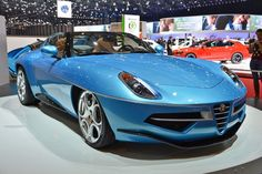 Touring's Alfa Romeo Disco Volante Spider is a convertible flying saucer