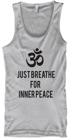 Discover Yoga Om Peace Best Tanktop Tank Top from YOGA T-SHIRT & TANK TOP STORE, a custom product made just for you by Teespring. Best Tank Tops, Funny Tees, Hoodies, Sweatshirts, Cool T Shirts, Custom Shirts, Tank Man, Just For You, Peace