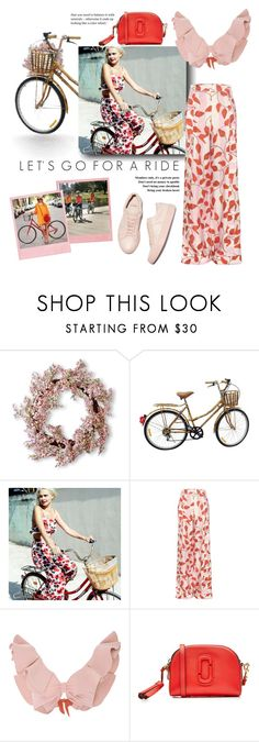 """""""Let's Go For A Ride"""" by the-amj ❤ liked on Polyvore featuring National Tree Company, Billabong, Johanna Ortiz, Tori Praver Swimwear and Marc Jacobs"""