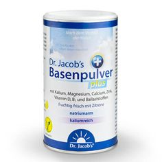 Dr. Jacob's – Basenpulver plus, 300g