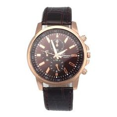 Fashion Watch 2017 New Lovers' Leather Quartz Luxury Watches Women Men Analog Dial Sport WristWatch relogio masculino