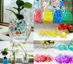 格安の, 中国の卸売業者から直接購入する: カラークリスタルビーズtranparent  結婚式のための完璧な、 エンゲージメント、 記念日と、 より多くの特別なイベント。するために使用し水で新鮮な花の花瓶。( これ以上緑臭い水)と水ビーズを点灯し当社のled光拠点とled水中ライト。  説明:空の水のビーズ大型コンテナに。が必要になるだろう1リットル以上の10グラムあたりの水のビーズ。浸漬し