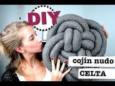 DIY | COMO HACER COJIN NUDO CELTA | CHULISIMA, FACIL Y RAPIDO! - YouTube                                                                                                                                                                                 Más