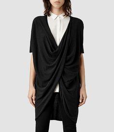 Womens Itat Reversible T-Shirt (Cinder Marl) - product_image_alt_text_1