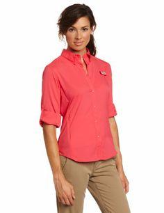 Columbia Women s Tamiami II Long Sleeve Shirt « Clothing Impulse Columbia  Fishing Shirts deef1520de