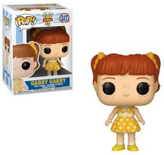 Collectors can't stop talking about this Pop! Vinyl Figure by Funko. Gabby Gabby from Disney and Pixar's Toy Story 4 will be the topic of every conversation. Disney Pop, Disney Pixar, Funko Pop Toy Story, Funko Pop Toys, Pop Figures, Vinyl Figures, Funk Pop, Pop Collection, Princesas Disney