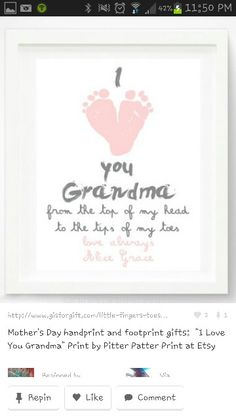 For mothers and fathers day