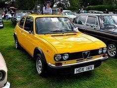 Classic and Vintage Cars - Alfa Romeo, Alfasud, 1.5 TI Series 2, 1979