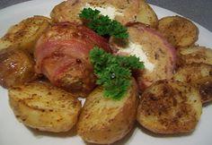 Plnené mäsové guľky pečené v muffinkovej forme