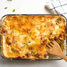 Casserole gratinée de pommes de terre, courge et jambon de Wooloo - 5 ingredients 15 minutes