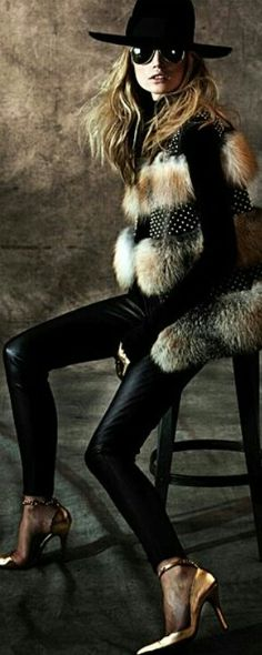 Fur and Leather.