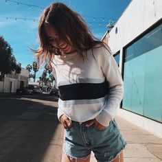 Swans Style is the top online fashion store for women. Shop sexy club dresses, jeans, shoes, bodysuits, skirts and more. Brandy Melville Style, Brandy Melville Outfits, Teen Fashion, Fashion Outfits, Womens Fashion, Fashion Blogs, Classy Fashion, Fashion Advice, Latest Fashion