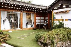 Bridal shop in Hanok, Korea