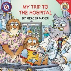 My Trip to the Hospital Little Critter children's book read aloud, writt. Audio Books For Kids, Childrens Books, Kid Books, Story Books, Baby Books, Mercer Mayer Books, Child Life Specialist, Little Critter, Book Of Life