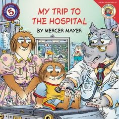 Read, read, read about going to the hospital