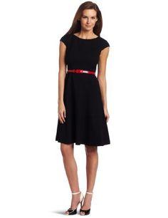 Anne Klein Women's Cap Sleeve Scoopneck Solid Dress,Black,2 Anne Klein,http://www.amazon.com/dp/B006PF0VO4/ref=cm_sw_r_pi_dp_LtGIrb8CEEF44DBE