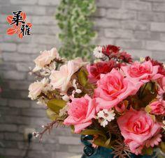 Aliexpress.com : Buy NEW Artificial flower rose silk decoration flower rustic 6 colors 30cm long for home party decorative wholesale free shipping from Reliable silk orchid suppliers on Lore 's Decoration Flowers Store. $35.99