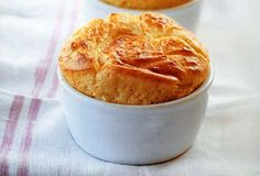 Parmesan and Gruyere Cheese Souffle...what a combo!