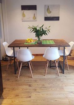 T-BAR DINING Table  Industrial Style  Matching by 101Furniture