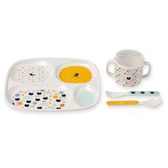 coffret vaisselle compartiment chat Bandjo