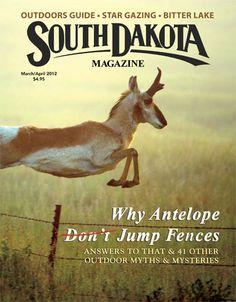 """South Dakota Magazine...for EVERYTHING """"South Dakota""""."""