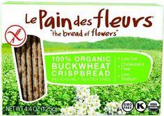 Le Pain Des Fleurs Organic Buckwheat Crispbread, 4.41 Ounce -- 6 per case. Le Pain De Fleur http://www.amazon.com/dp/B008N1NV54/ref=cm_sw_r_pi_dp_0Z8Mvb10VMAH4